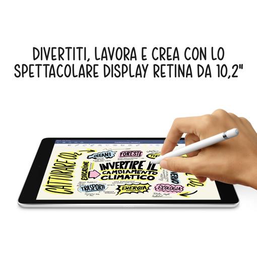 Apple iPad 10.2-inch Wi-Fi 64GB - Argento