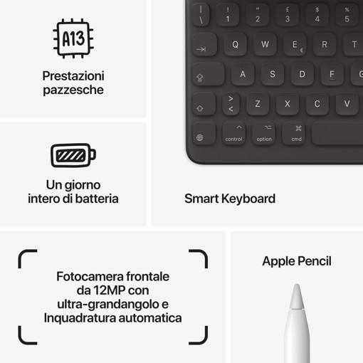 Apple iPad 10.2-inch Wi-Fi 256GB - Argento