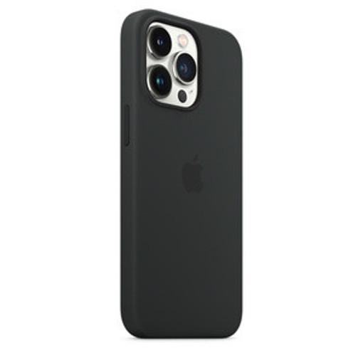 Apple Custodia MagSafe in silicone per iPhone 13 Pro - Mezzanotte