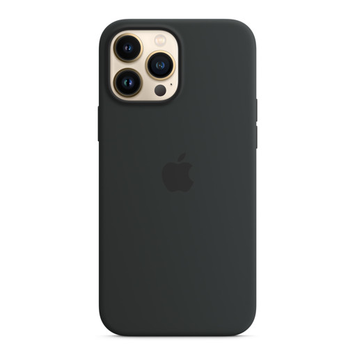 Apple Custodia MagSafe in silicone per iPhone 13 Pro Max - Mezzanotte
