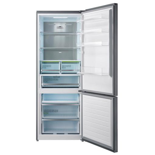 Midea MDRB593FGE02 frigorifero con congelatore Libera installazione 416 L E Acciaio inossidabile