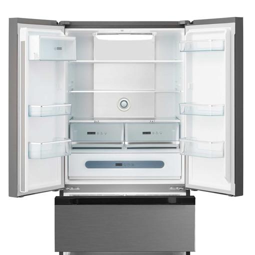 Midea MDRF713FGE02 frigorifero side-by-side Libera installazione 535 L E Acciaio inossidabile