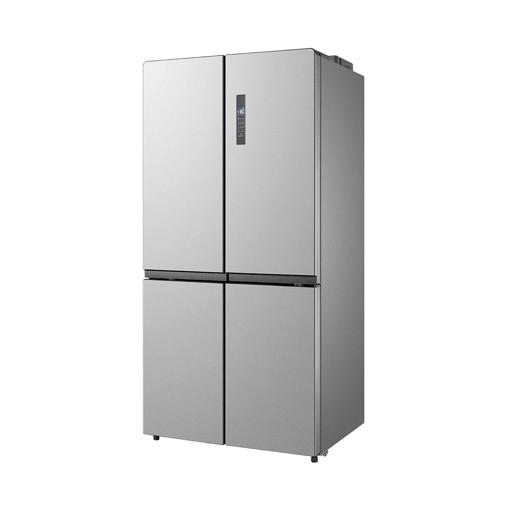 Midea MDRF861FGE02 frigorifero side-by-side Libera installazione 636 L E Acciaio inossidabile