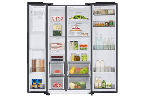 Samsung RS68A8821B1 frigorifero side-by-side Libera installazione E Nero