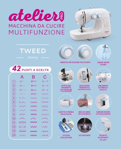 TWEED Atelier Macchina da cucire automatica Elettrico