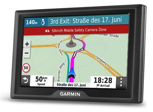 """Garmin Drive 52 & Live Traffic navigatore Palmare/Fisso 12,7 cm (5"""") TFT Touch screen 170,8 g Nero"""