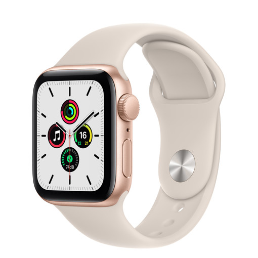 Apple Watch SE 40 mm OLED Oro GPS (satellitare)