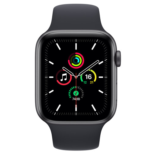 Apple Watch SE 44 mm OLED Grigio GPS (satellitare)