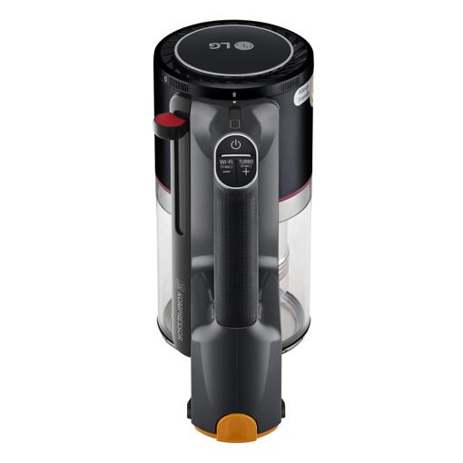 LG Aspirapolvere A9K-ULTRA1B Scopa Elettrica Senza Sacchetto Senza Filo 200W Doppia Batteria - Nero
