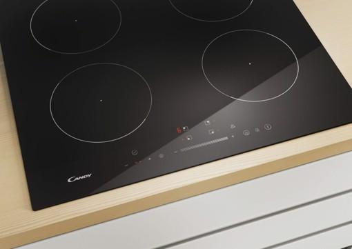 Candy Timeless CIS642SCTT Nero Da incasso 59 cm Piano cottura a induzione 4 Fornello(i)