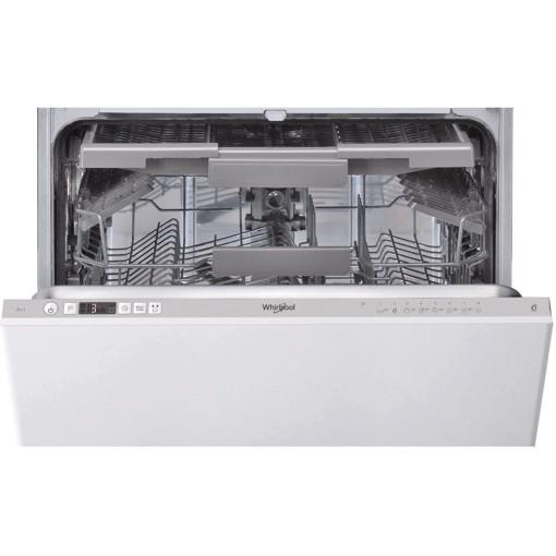 Whirlpool WIC 3C26 F lavastoviglie A scomparsa parziale 14 coperti E