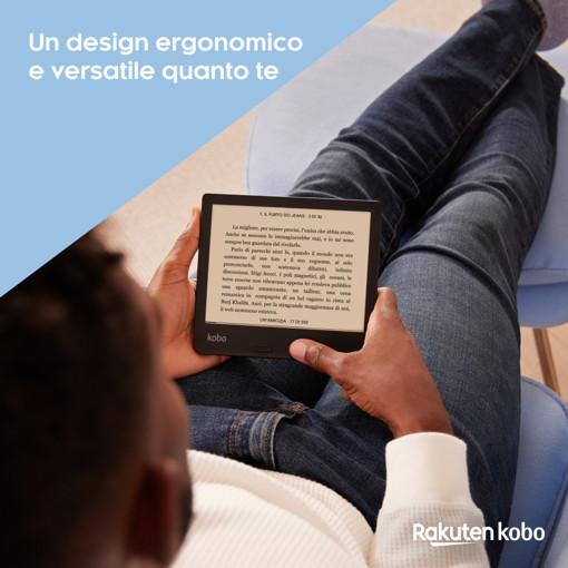 Rakuten Kobo Libra 2 lettore e-book Touch screen 32 GB Wi-Fi Nero