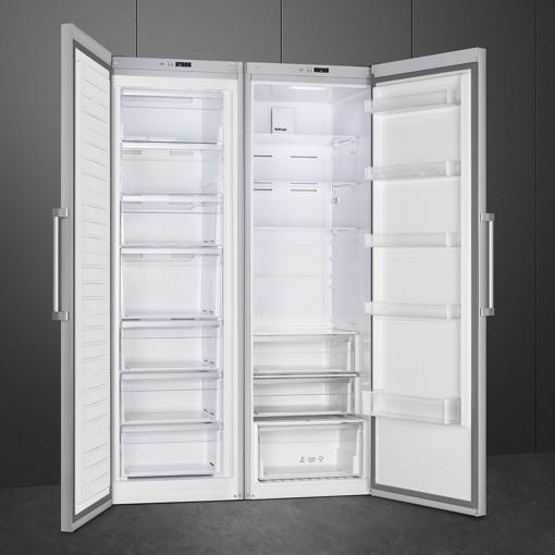 Smeg FF18EN2HX congelatore Libera installazione 280 L E Acciaio inossidabile