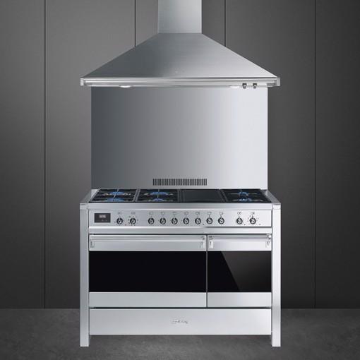 Smeg A3-81 cucina Cucina freestanding Gas Acciaio inossidabile B
