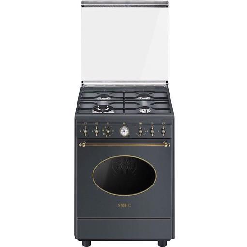 Smeg CO68GMA8 cucina Piano cottura Gas Antracite A