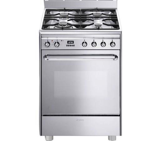 Smeg CP60X9 cucina Piano cottura Gas Acciaio inossidabile A