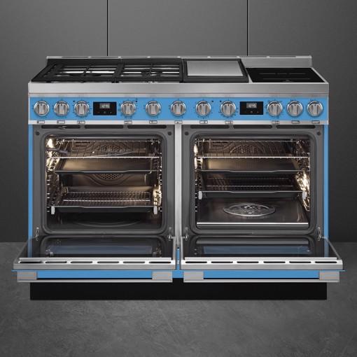 Smeg CPF120IGMPT cucina Piano cottura Combi Turchese A+
