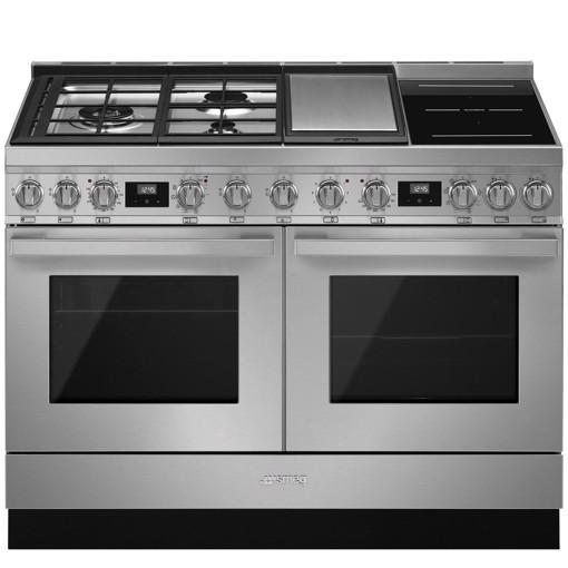 Smeg CPF120IGMPX cucina Piano cottura Combi Acciaio inossidabile A+