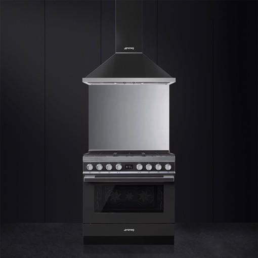 Smeg CPF9GMAN cucina Piano cottura Gas Antracite A+