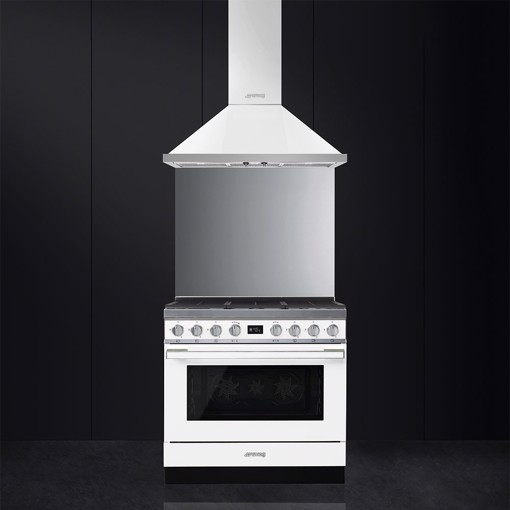 Smeg CPF9GMWH cucina Piano cottura Gas Bianco A+
