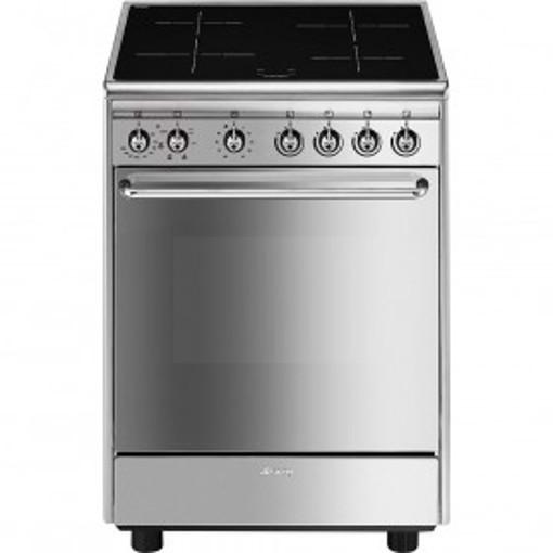 Smeg CX60ISV9 cucina Piano cottura Piano cottura a induzione Acciaio inossidabile A