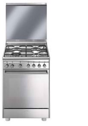 Smeg CX68M8-1 cucina Piano cottura Gas Acciaio inossidabile A