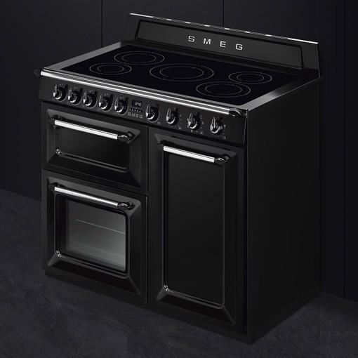 Smeg TR103IBL cucina Cucina freestanding Piano cottura a induzione Nero A