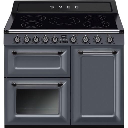 Smeg TR103IGR cucina Piano cottura Piano cottura a induzione Grigio A