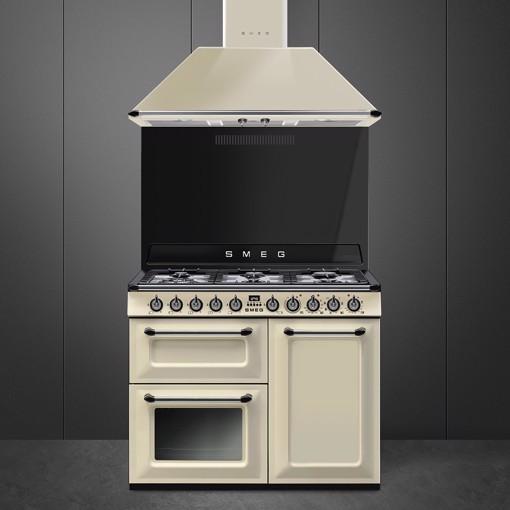 Smeg TR103P cucina Piano cottura Gas Crema A