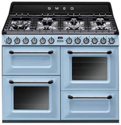 Smeg TR4110AZ cucina Piano cottura Gas Blu A