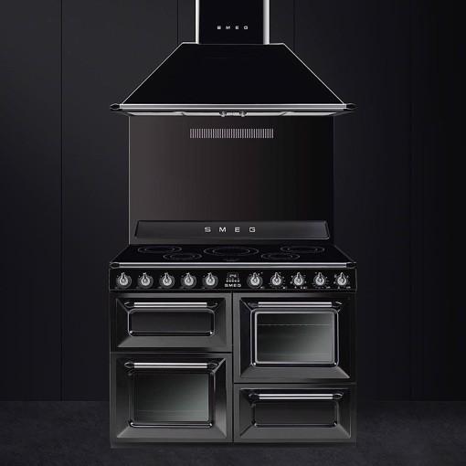 Smeg TR4110IBL cucina Piano cottura Piano cottura a induzione Nero A