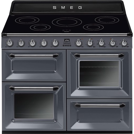 Smeg TR4110IGR cucina Piano cottura Piano cottura a induzione Grigio A