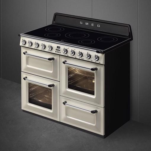 Smeg TR4110IP cucina Piano cottura Piano cottura a induzione Crema A