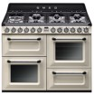 Smeg TR4110P1 cucina Piano cottura Gas Nero, Crema A