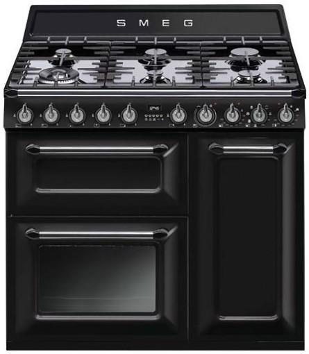 Smeg TR93BL Cucina Victoria Nero