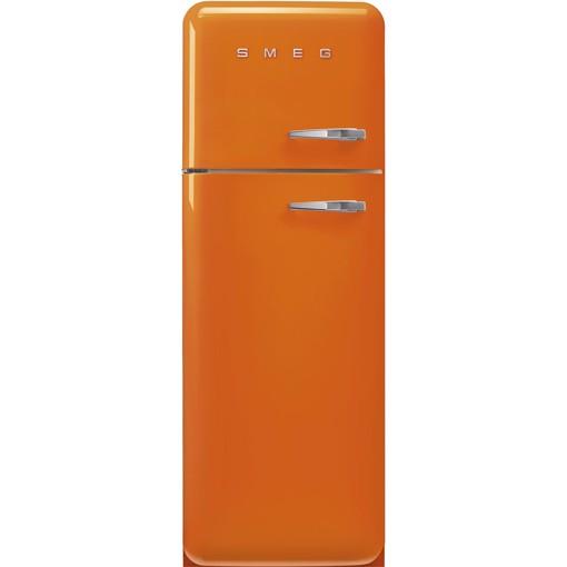 Smeg FAB30LOR5 frigorifero con congelatore Libera installazione 294 L D Arancione