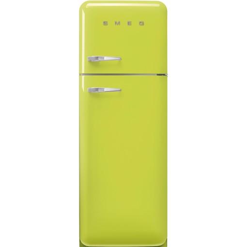 Smeg FAB30RLI5 frigorifero con congelatore Libera installazione 294 L D Verde, Lime