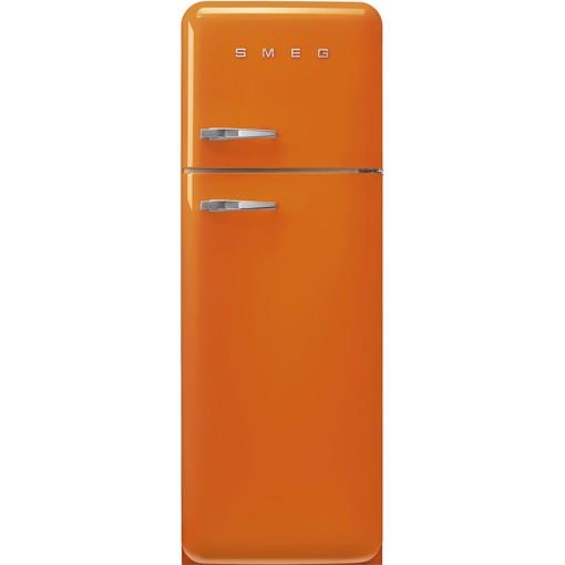 Smeg FAB30ROR5 frigorifero con congelatore Libera installazione 294 L D Arancione