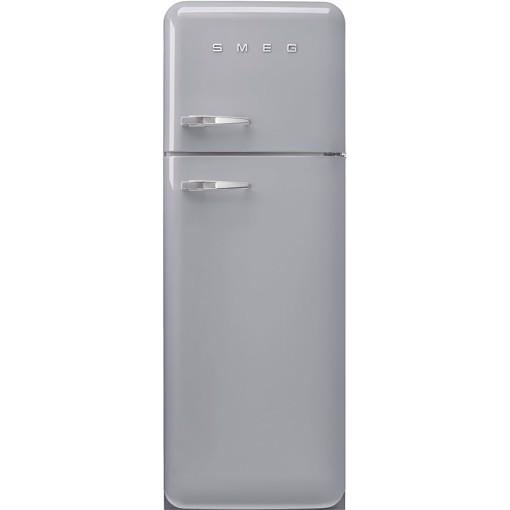 Smeg FAB30RSV5 frigorifero con congelatore Libera installazione 294 L D Argento