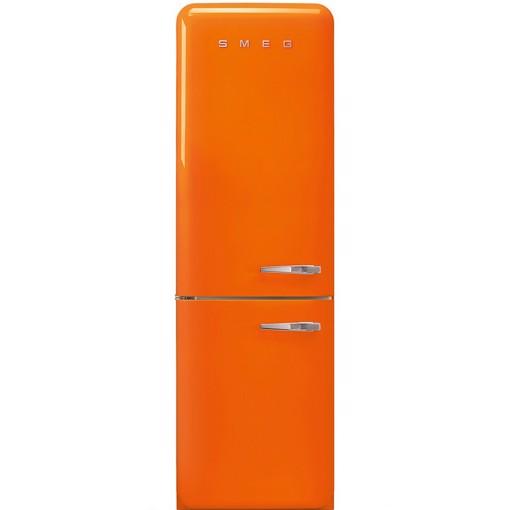 Smeg FAB32LOR5 frigorifero con congelatore Libera installazione 331 L D Arancione