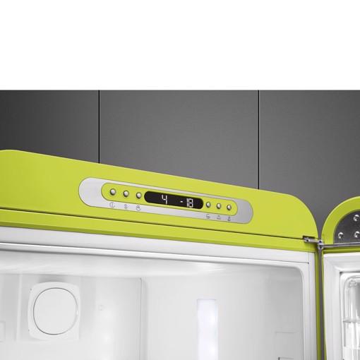 Smeg FAB32RLI5 frigorifero con congelatore Libera installazione 331 L D Lime