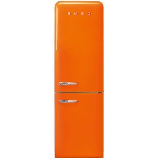 Smeg FAB32ROR5 frigorifero con congelatore Libera installazione 331 L D Arancione