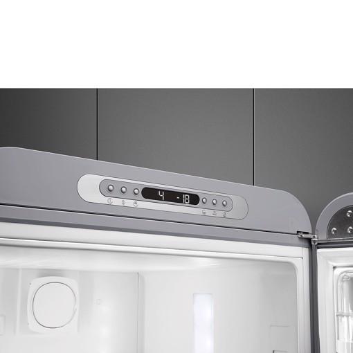 Smeg FAB32RSV5 frigorifero con congelatore Libera installazione 331 L D Argento