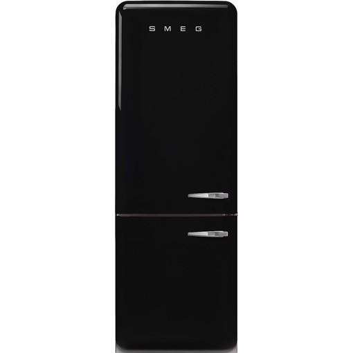 Smeg FAB38LBL5 frigorifero con congelatore Libera installazione 481 L E Nero