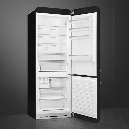 Smeg FAB38RBL5 frigorifero con congelatore Libera installazione 481 L E Nero