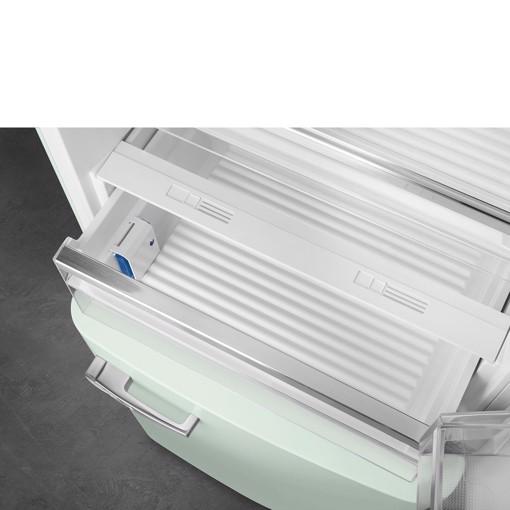 Smeg FAB38RPG5 frigorifero con congelatore Libera installazione 481 L E Verde