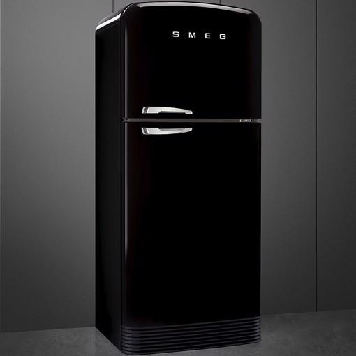 Smeg FAB50RBL5 frigorifero con congelatore Libera installazione 524 L E Nero