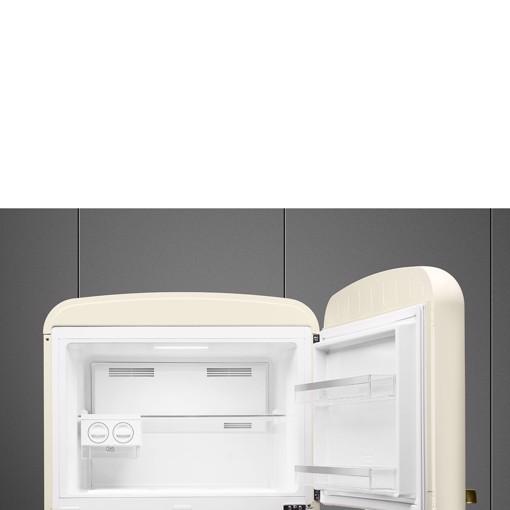 Smeg FAB50RCRB5 frigorifero con congelatore Libera installazione 524 L E Crema