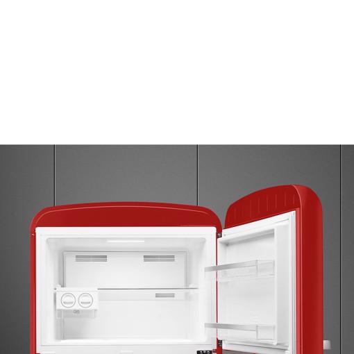 Smeg FAB50RRD5 frigorifero con congelatore Libera installazione 524 L E Rosso