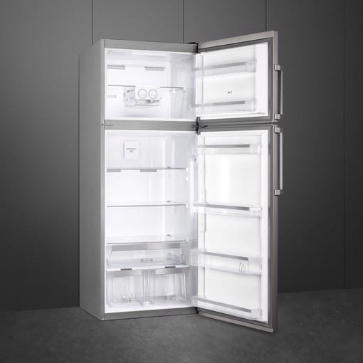Smeg FD70FN1HX frigorifero con congelatore Libera installazione 432 L F Acciaio inossidabile